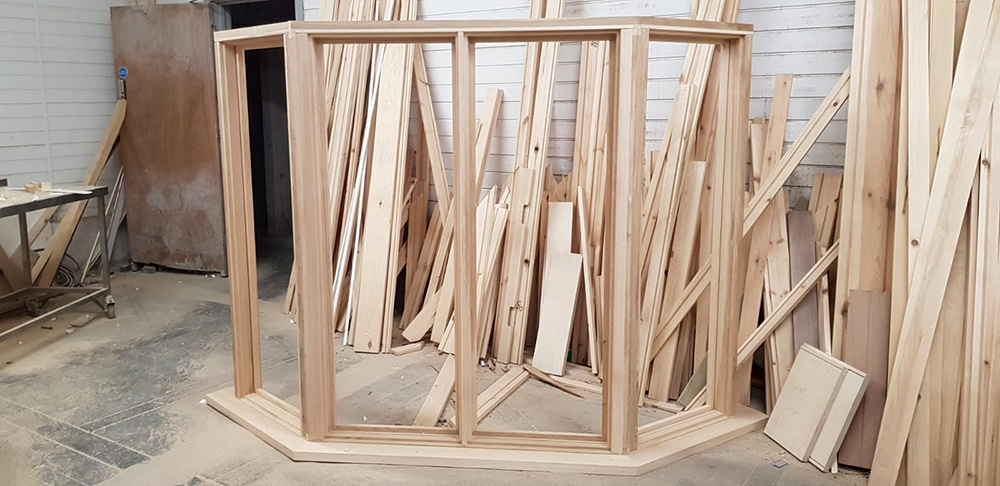 Bay window in production