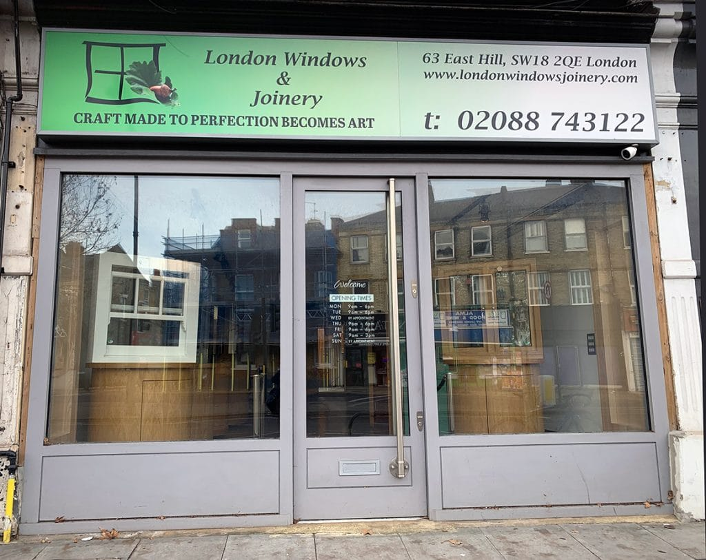 London Windows & Joinery Showroom
